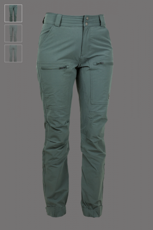 LIGHT FUNCTIONAL STABLE PANT URBAN CHICK GREEN